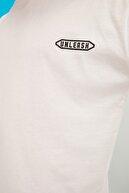 TRENDYOL MAN Beyaz Erkek Kısa Kollu Oversize Sırt Baskılı T-Shirt TMNSS21TS1031