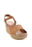 Bambi Taba Kadın Dolgu Topuklu Ayakkabı K05688001558