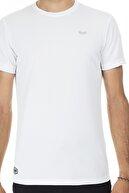 Buratti Erkek BEYAZ Bisiklet Yaka Rahat Kesim Basic T Shirt 5657025