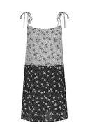 Mudo Kadın Multi Renk Askılı Floral Mini Elbise 377755