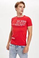 Defacto Slim Fit Bisiklet Yaka Kısa Kollu Tişört