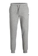 Jack & Jones Erkek Gri Eşofman Gordon Soft Sweatpants - 12195726