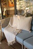 Buldan CSN Tekstil 4' Lü Buldan Bezi Kırlent Kılıfı