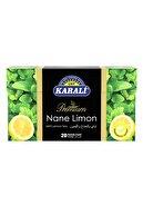 Karali Çay Premium Bardak Poşet Nane-limon Çayı 20'li