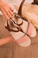 Soho Exclusive Pudra Kadın Sandalet 14662