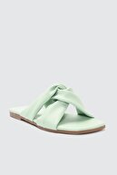 Trendyol Shoes Yeşil Kadın Terlik TAKSS21TE0039