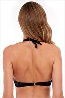 AYYILDIZ Kadın Siyah Toparlayıcı Bikini Üstü 63544/D2046