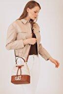 US Polo Assn Bej-Taba Kadın Postacı Çantası Us20076