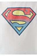 Mavi Kadın Lisanslı Superman Baskılı Beyaz Tişört 168885-620
