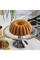 Sillage Home Gümüş Ayaklı Kek Ve Pasta Standı 30cm