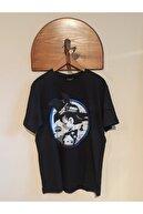 Luomo la Donna Unisex Siyah T-Shirt