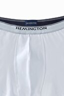Hemington Erkek Beyaz Boxer