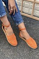 İnan Ayakkabı DANTEL DETAYLI TOKALI SANDALET