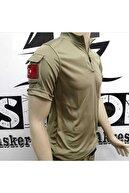 Silyon Askeri Giyim Taktik Pusu T-shirt