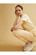 Koton Kadın Sarı Jogger Esofman Altı