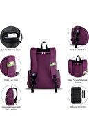 My Valice Smart Bag Mother Star Usb'li Anne Bebek Bakım ve Sırt Çantası Pembe