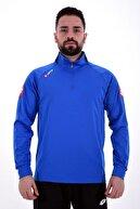 Lotto Unisex Mavi Joe Antrenman Eşofmanı Tek Üst R8919