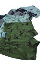 biyokids Erkek Çocuk Karışık Renk Baskılı Boxer 5'li Paket