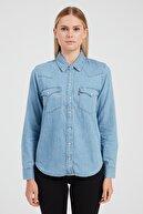 Levi's Kadın Mavi Gömlek 86832-0001