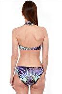 AYYILDIZ Kadın Mor Toparlayıcı Bikini Takımı 40693