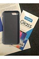 SUPPO Iphone 7 Plus/8 Plus Logolu Lansman Kılıf Kırılmaz Cam