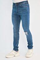 TRENDYOL MAN Mavi Erkek Super Skinny Jeans TMNSS21JE0211