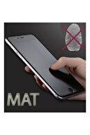 Telehome Iphone 7 Plus Mat Kırılmaz Cam Nano Parmak Izi Bırakmaz Siyah