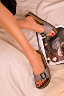 Soho Exclusive Platin Kadın Terlik 15095