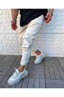 Cocers Erkek Taş Paçası Lastikli Jogger Pantolon