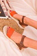 Soho Exclusive Orange Kadın Sandalet 14662