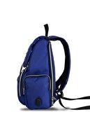 My Valice Smart Bag Mother Star Usb'li Anne Bebek Bakım ve Sırt Çantası Sax Mavi
