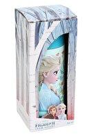 Frocx Frozen 2 Mavi Kız Çocuk 350 Ml Çelik Matara/suluk - 44047