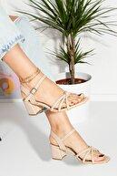 Teo Gündelik & Abiyelik Topuklu Sandalet