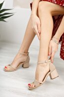 Diardi Kadın Nude Günlük Sandalet
