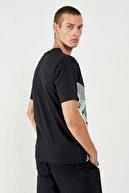 HUMMEL Erkek Siyah Kısa Kollu Tişört