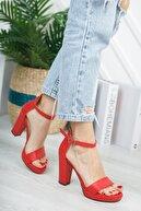 KILINÇ Kadın Kırmızı Zenne Ayakkabı