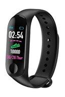 Fonemax Band 3 Akıllı Bileklik - Adımsayar - Uyku Takip - Kalp Ritim Ölçer - Renkli Ekran