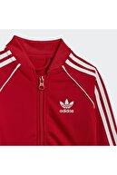 adidas Unisex Çocuk Kırmızı Adicolor Sst Eşofman Takımı