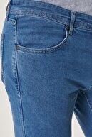 Altınyıldız Classics Erkek Mavi Ekstra Slim Fit Dar Kesim Denim Esnek Jean Kot Pantolon