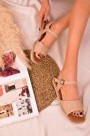 Soho Exclusive Keten Kadın Sandalet 16036