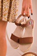 Soho Exclusive Taba Kadın Sandalet 14662