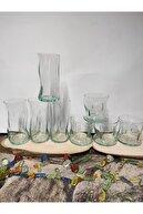 Paşabahçe 8 Parça Aware Collection Su-meşrubat Bardağı.%100 Geri Dönüşümlü Bardak