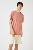 Koton Erkek Pembe T-Shirt 1YAM12018LK