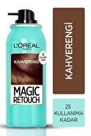L'Oreal Paris Beyaz Saçlar için Kapatıcı Kahverengi Saç Spreyi 75 ml