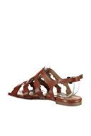 Derimod Hakiki Deri Taba Kadın Sandalet