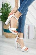KILINÇ Kadın Beyaz Platform Ayakkabı