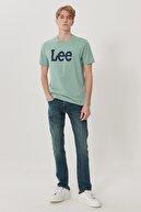 Lee Luke Erkek Lacivert Slim Tapered Düşük Bel Dar Paça Esnek Jean Pantolon