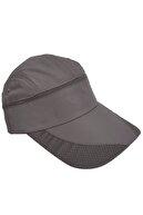 WINNERS Sporcu Koşu Tenis Şapkası Koyu Gri Vizör Şapka