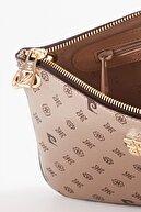 Pierre Cardin Altın Monogram Omuz Çantası 05PO21Y1444