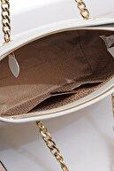 US Polo Assn Kadın Beyaz Omuz Çantası